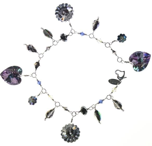Swarovski Crystal Charm Bracelet