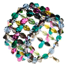 Swarovski crystal bracelet by Karen Curtis NYC
