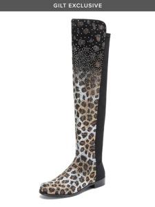 swarovski boots, stuart weitzman, 50/50,