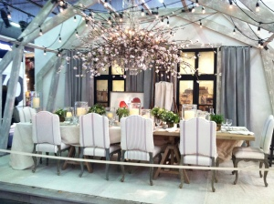 Cherry Blossom Chandelier Room at AD Home Show 2014
